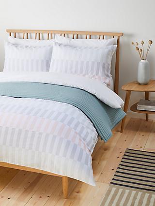 234ecfcf20b John Lewis   Partners Block Pastel Stripe Duvet Cover Set