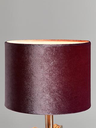 Lamp Shades John Lewis Partners, Small Fuschia Lamp Shade