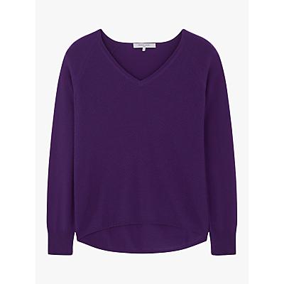 Gerard Darel Candice Cashmere Pullover Jumper, Purple