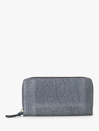 Gerard Darel Leather Portefeuille Wallet, Blue