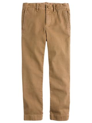 crewcuts by J.Crew Boys' Skinny Fit Stretch Chinos, Ridge Khaki