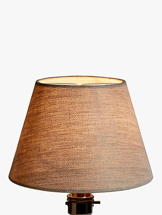 John Lewis Partners Sophia Pure Linen Candle Lampshade Natural