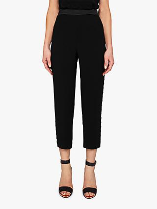 Ted Baker Carlaa Tailored Joggers, Black