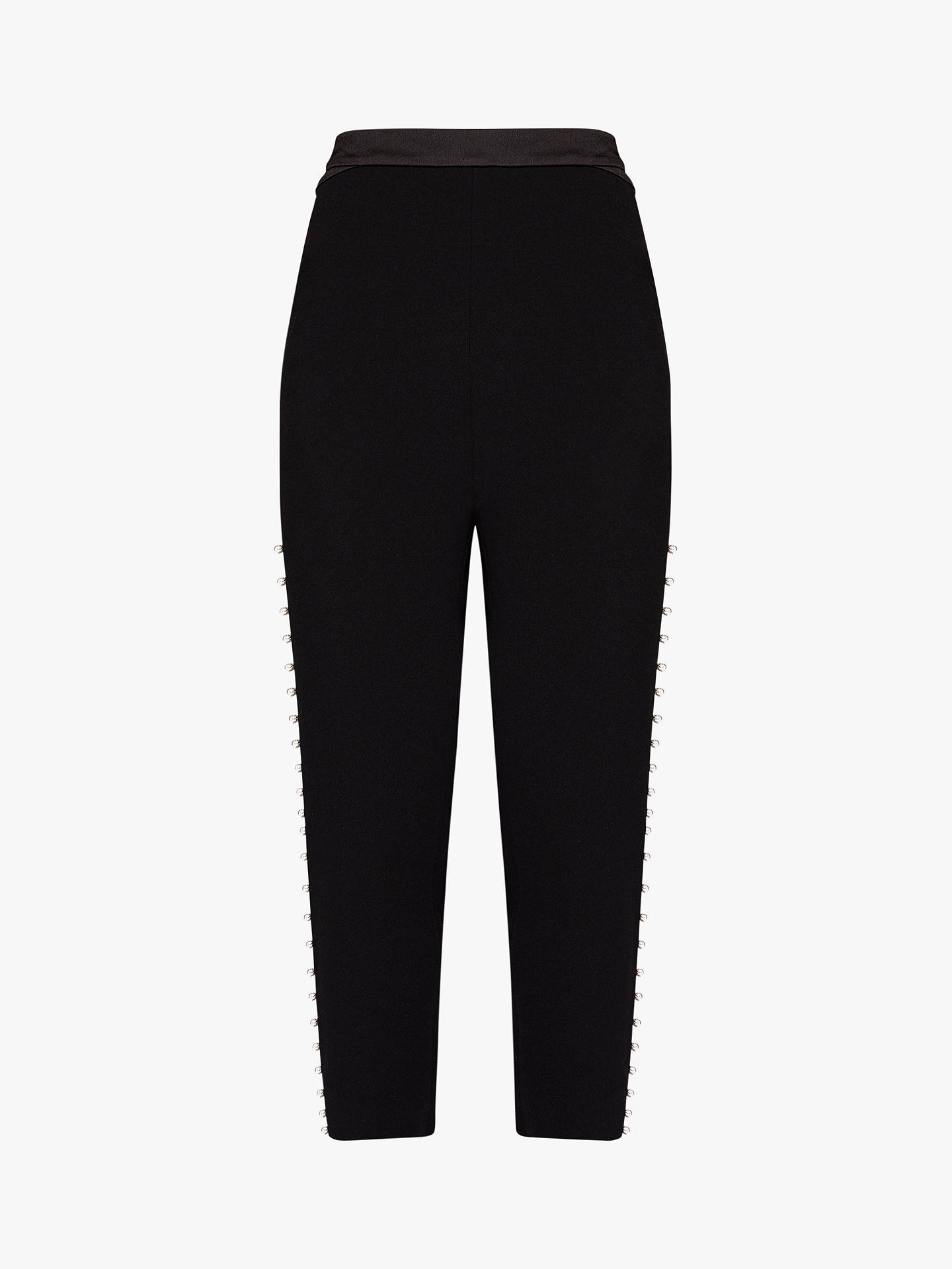 Buy Ted Baker Carlaa Tailored Joggers, Black, XL Online at johnlewis.com