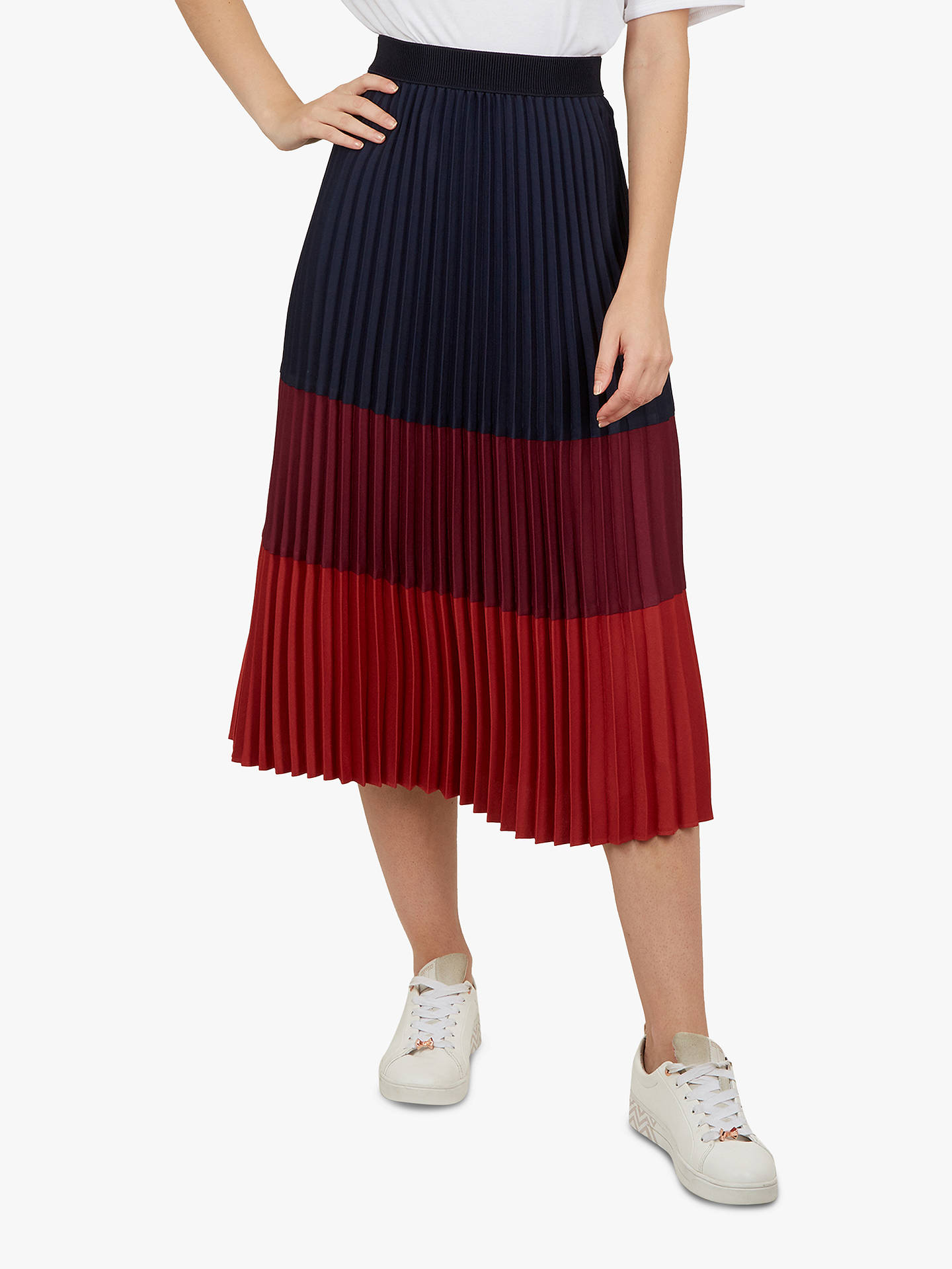 cf89232d9 Buy Ted Baker Zahava Colour Block Midi Skirt