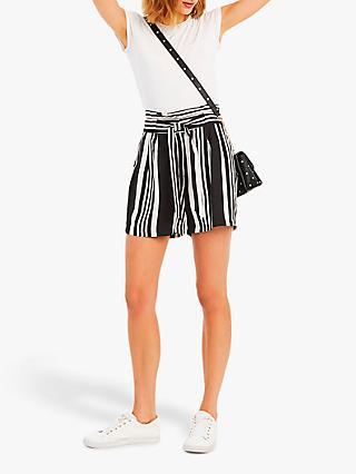 Oasis Mono Stripe Casual Shorts Multi