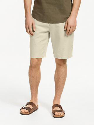 d864f7a653 John Lewis   Partners Linen Cotton Shorts