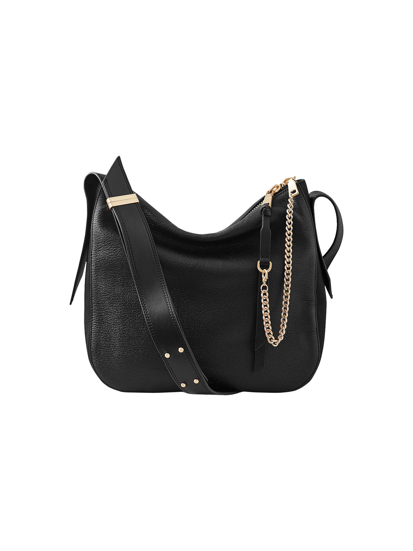526ca83e6a Buy Reiss Willow Leather Relaxed Shoulder Bag