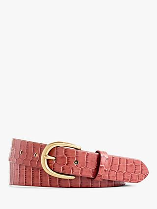 8448a9b29d4 J. Crew Leather Croc Belt