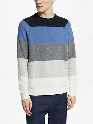 Kin Five Stripe Jumper, Multi