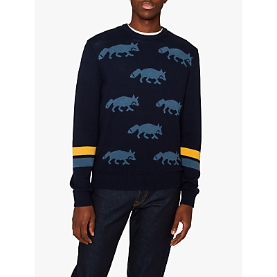 PS Paul Smith Fox Jumper, Navy