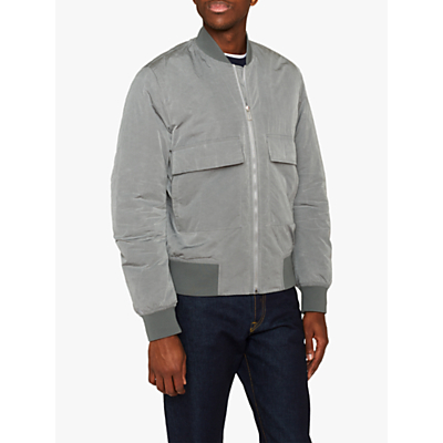 PS Paul Smith Oversized Bomber Jacket, Grey