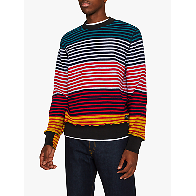 PS Paul Smith Multi Stripe Jumper, Multi
