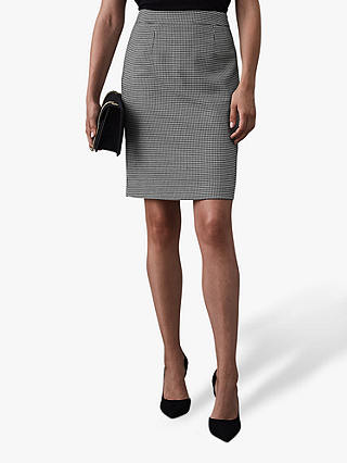 Buy Reiss Perla Pencil Skirt, Houndstooth, 6 Online at johnlewis.com