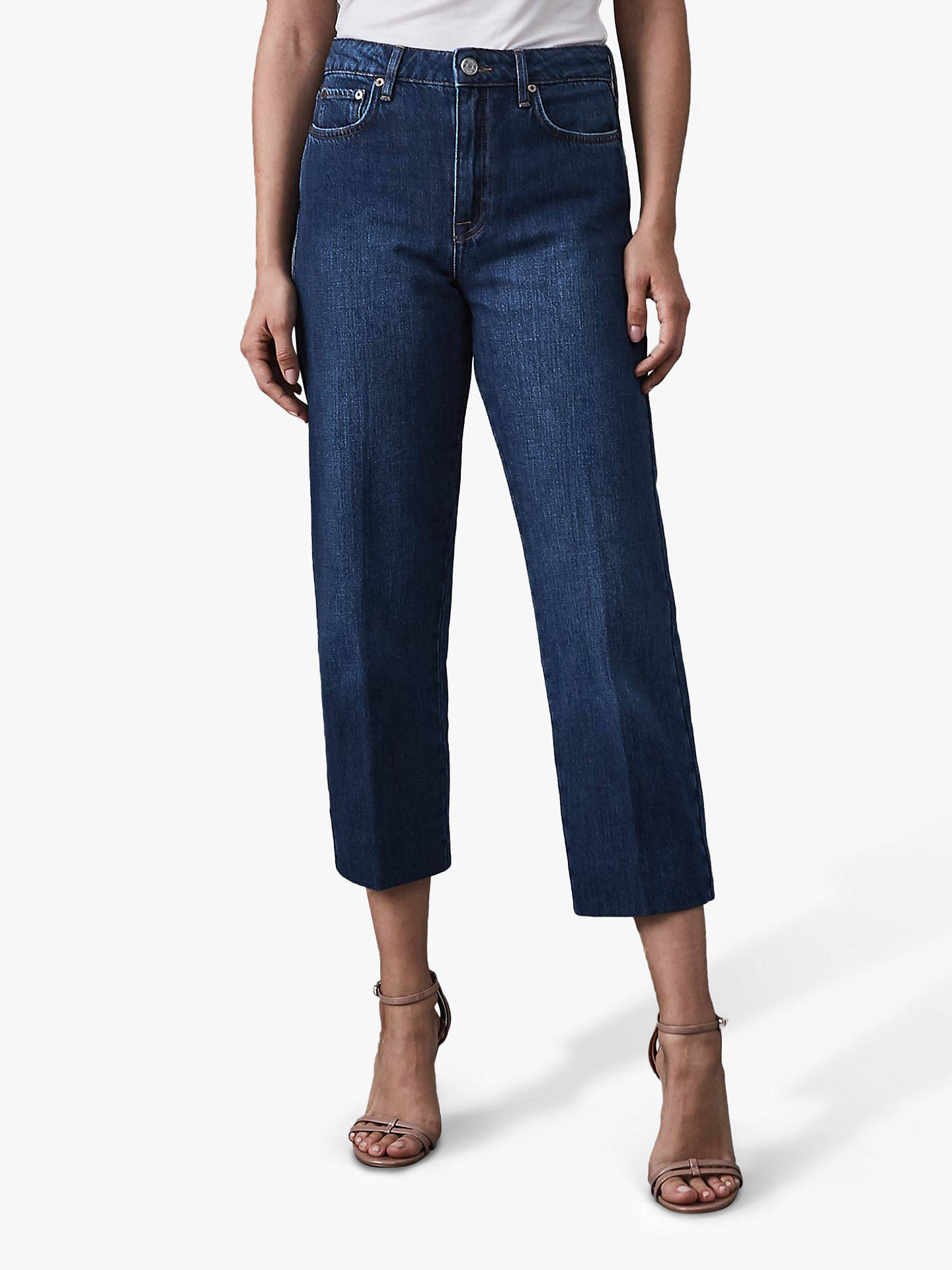 47e1408cc53 Buy Reiss Ada Cropped Straight Leg Jeans