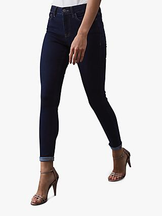 Reiss Lux Mid Rise Skinny Jeans