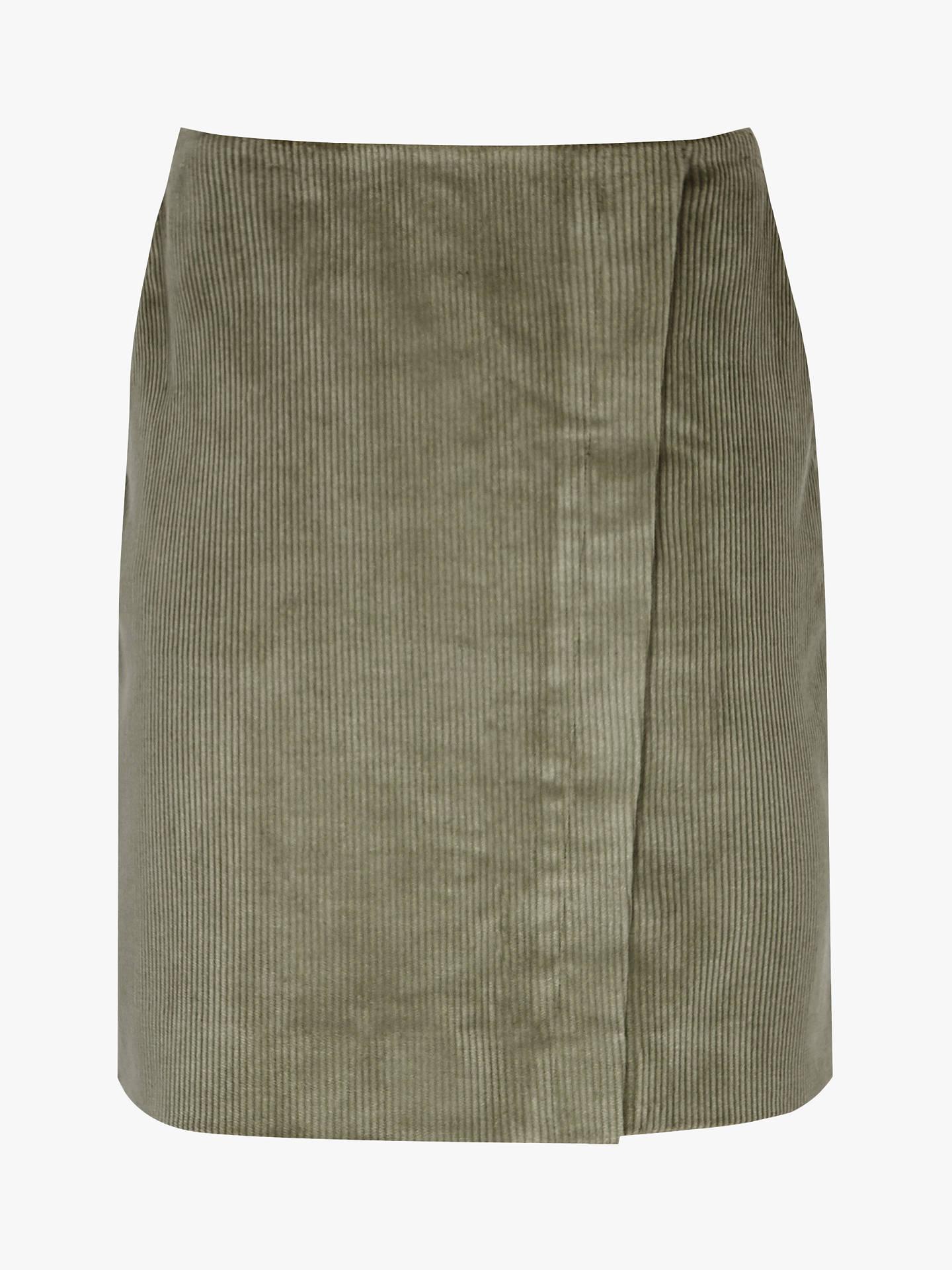 c9311ea0d7 ... Buy Reiss Francis Corduroy Mini Skirt, Green Mid, 8 Online at  johnlewis.com ...