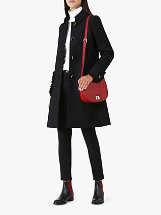 Hobbs Ophelia Coat, Black