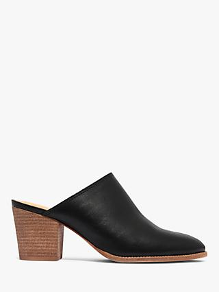 40bbe7dcd7c9 Exclusive to John Lewis & Partners and Madewell. Madewell Harper Block Heel  Mule Court Shoes