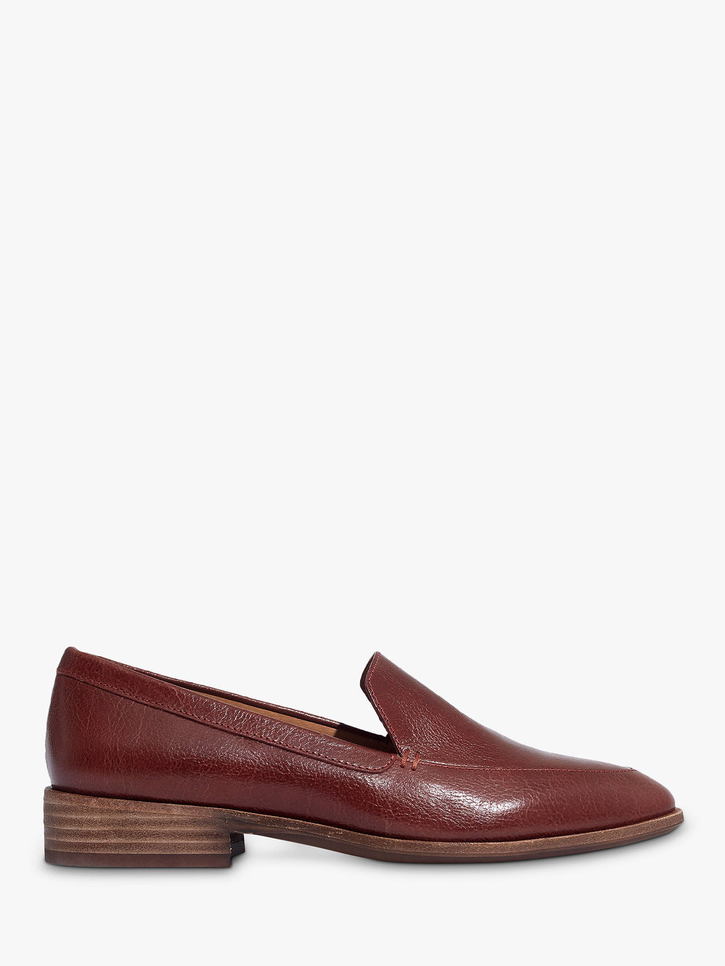 a7f04c08cce Madewell Frances Block Heel Loafers at John Lewis   Partners