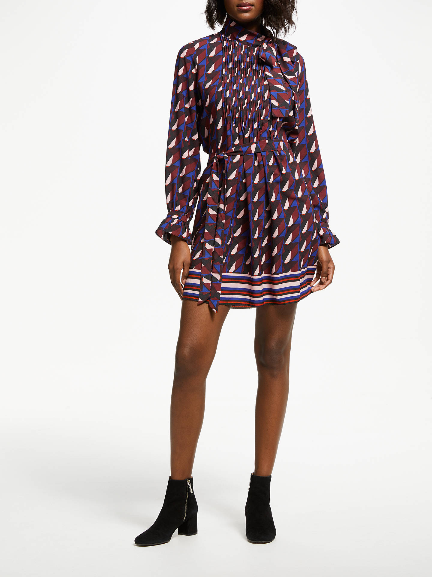 Buy SUNCOO Cassiopee Dress, Purple, 8 Online at johnlewis.com