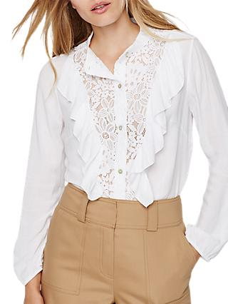 Damsel in a Dress Eloisa Lace Blouse, Ivory