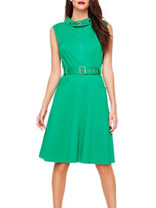 Damsel in a Dress Suzy Eyelet Detail Dress, Emerald