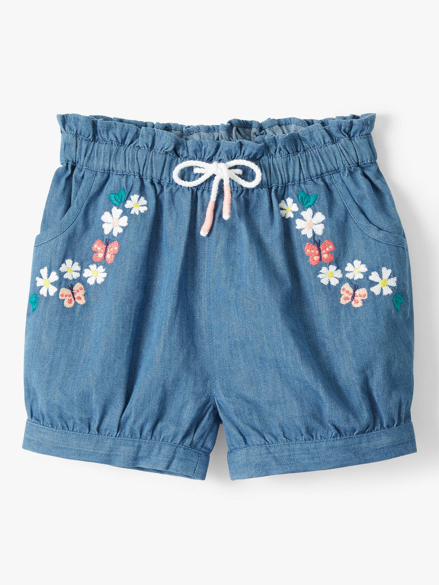 Bottoms Clothing, Shoes & Accessories Baby Boys 12-18 Mth Shorts Denim Long Next Cotton Blue Drawstring Elastic Waist Sophisticated Technologies