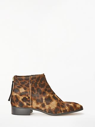 b04eafa92ec John Lewis   Partners Ophelia Leopard Ankle Boots