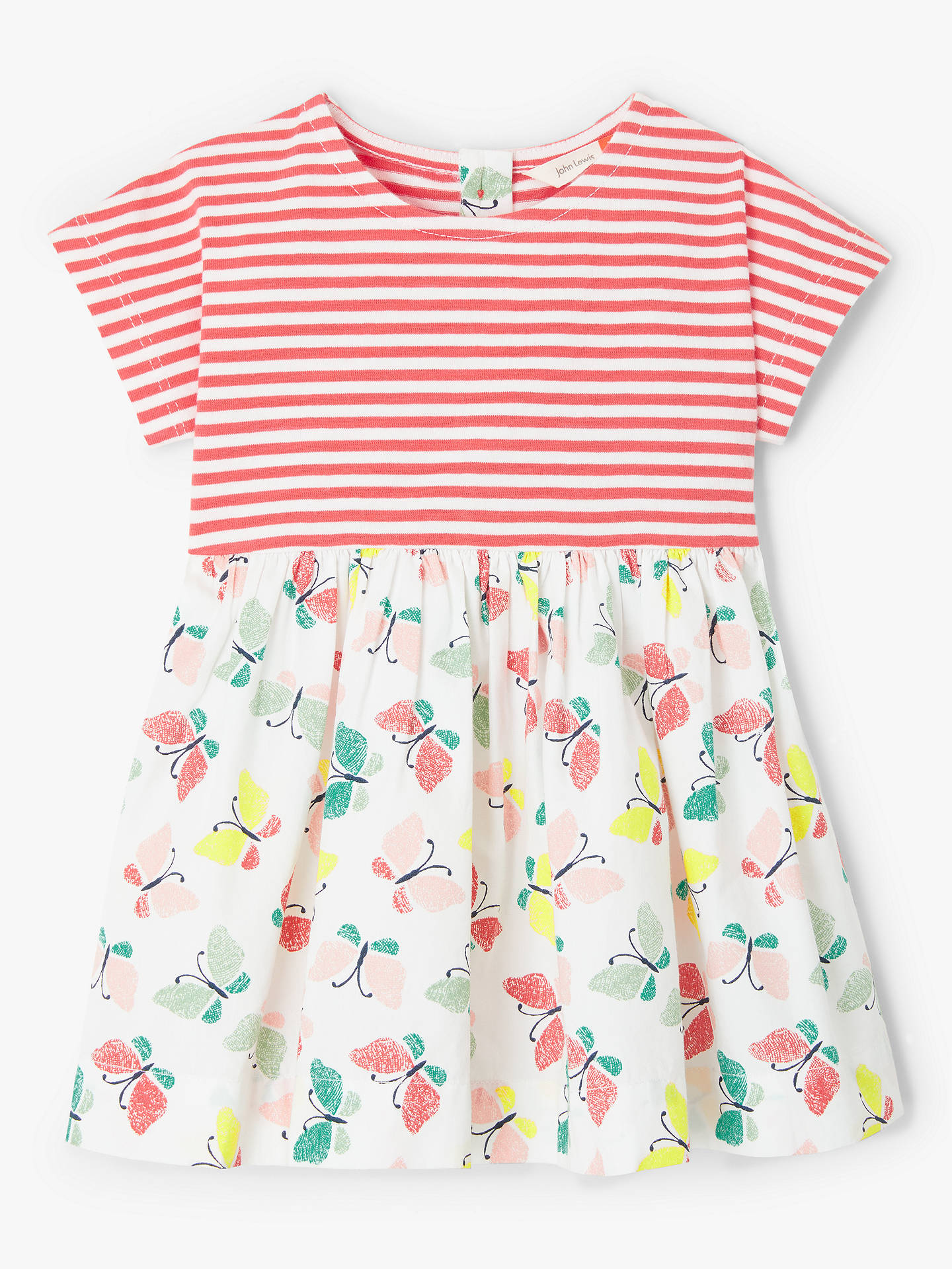 1c084c097518 John Lewis   Partners Baby Butterfly Half and Half Dress