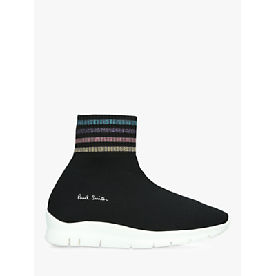 Paul Smith Blaze Sock Trainers, Black