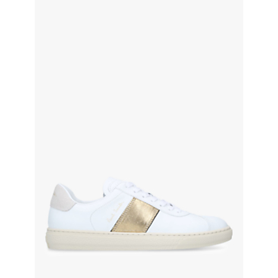 Paul Smith Levon Lace Up Trainers, White/Multi Leather