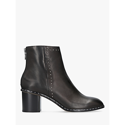 rag & bone Willow Studded Ankle Boots, Black Leather