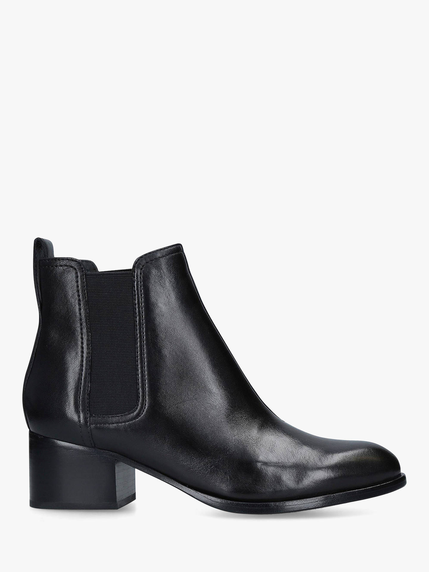 4a6998ed7c Buy rag & bone Walker Block Heel Ankle Boots, Black Leather, 3.5 Online at  ...