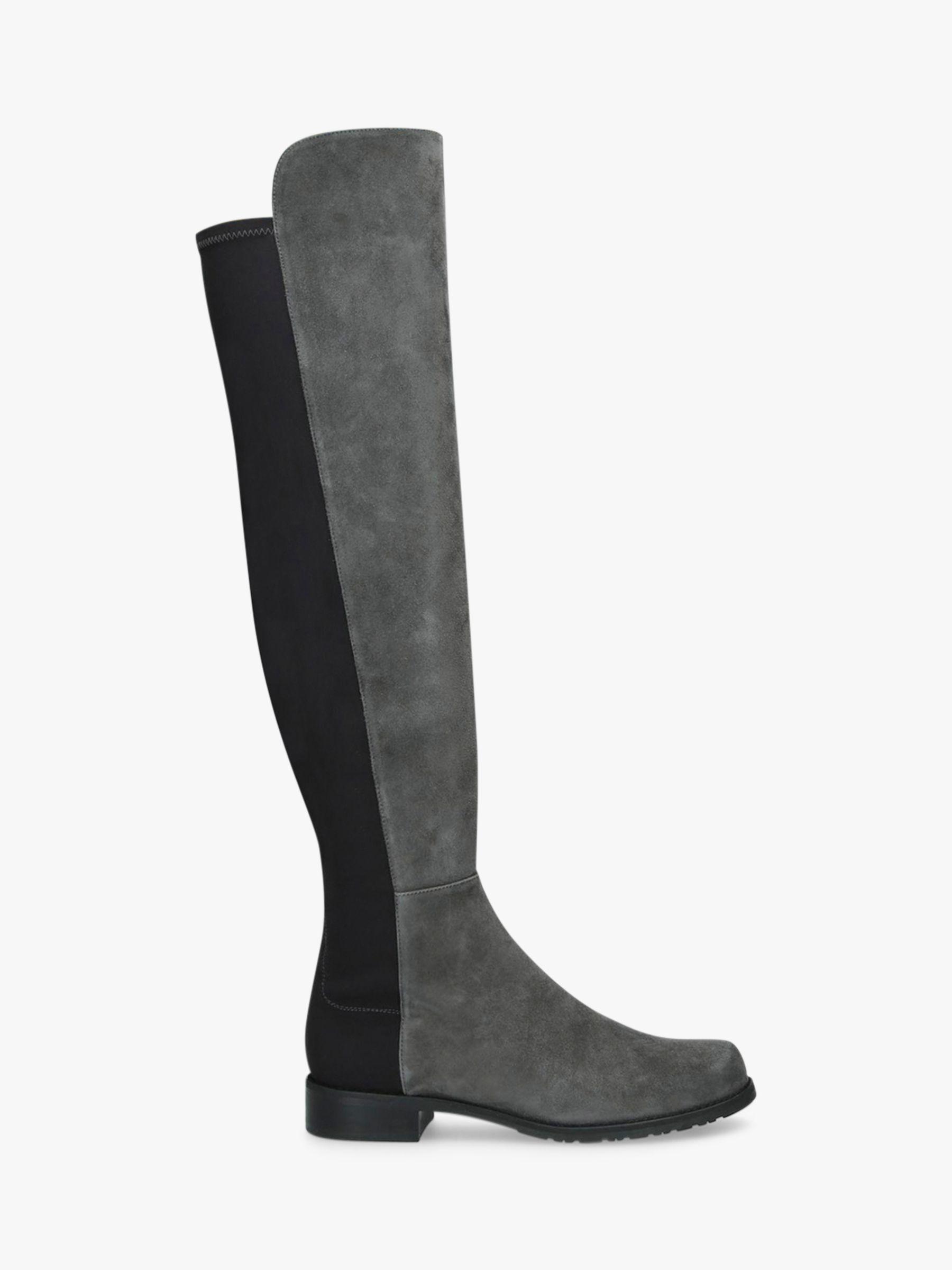 Stuart Weitzman Stuart Weitzman 50:50 Block Heel Knee High Boots