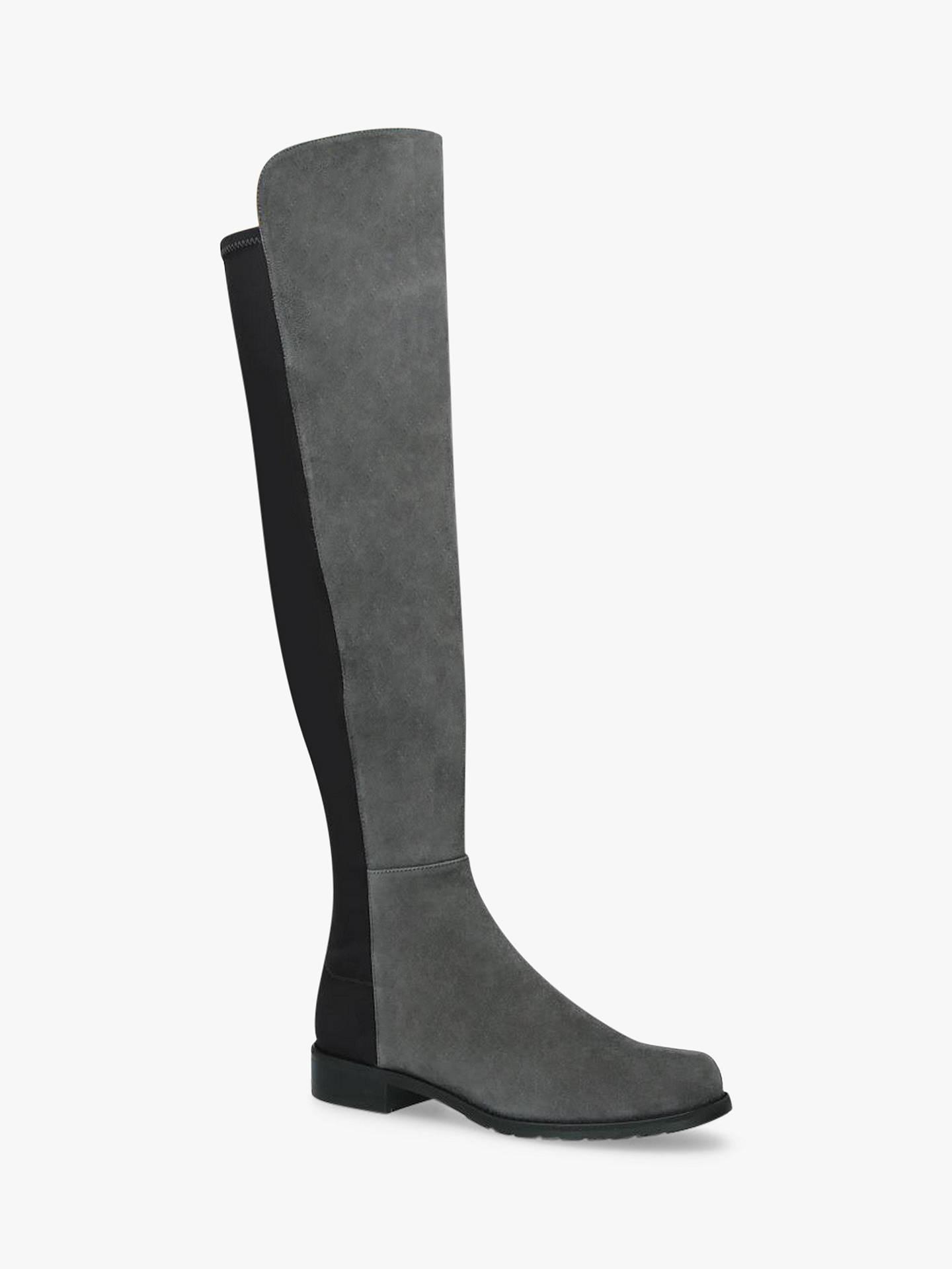 6c192d1e018 Stuart Weitzman 50 50 Block Heel Knee High Boots at John Lewis ...