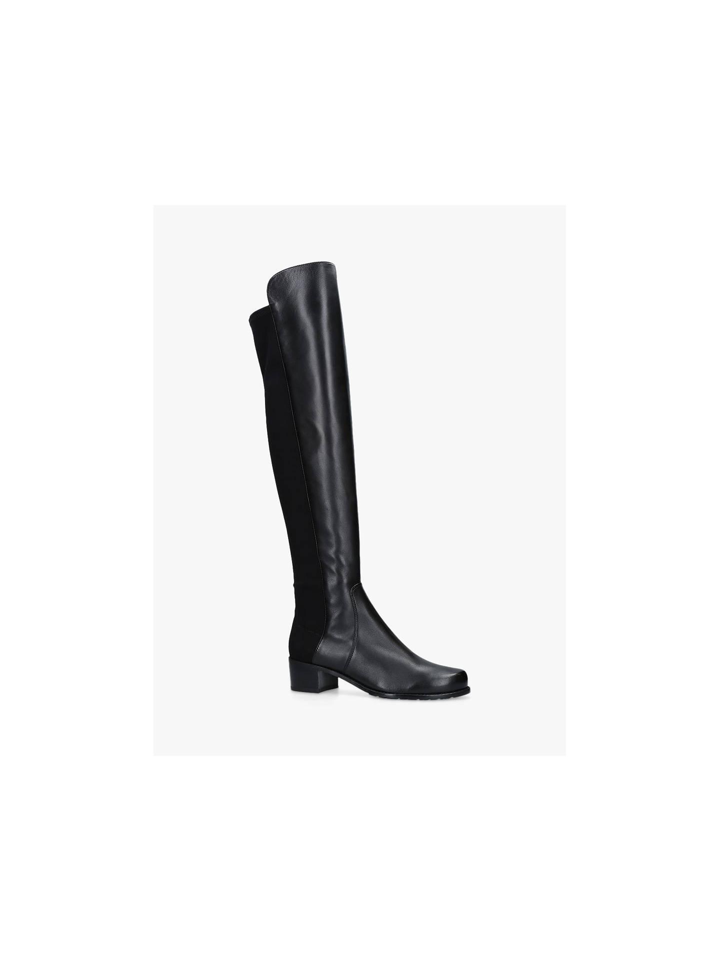 3445a6115fc Stuart Weitzman Reserve Block Heel Knee High Boots at John Lewis ...
