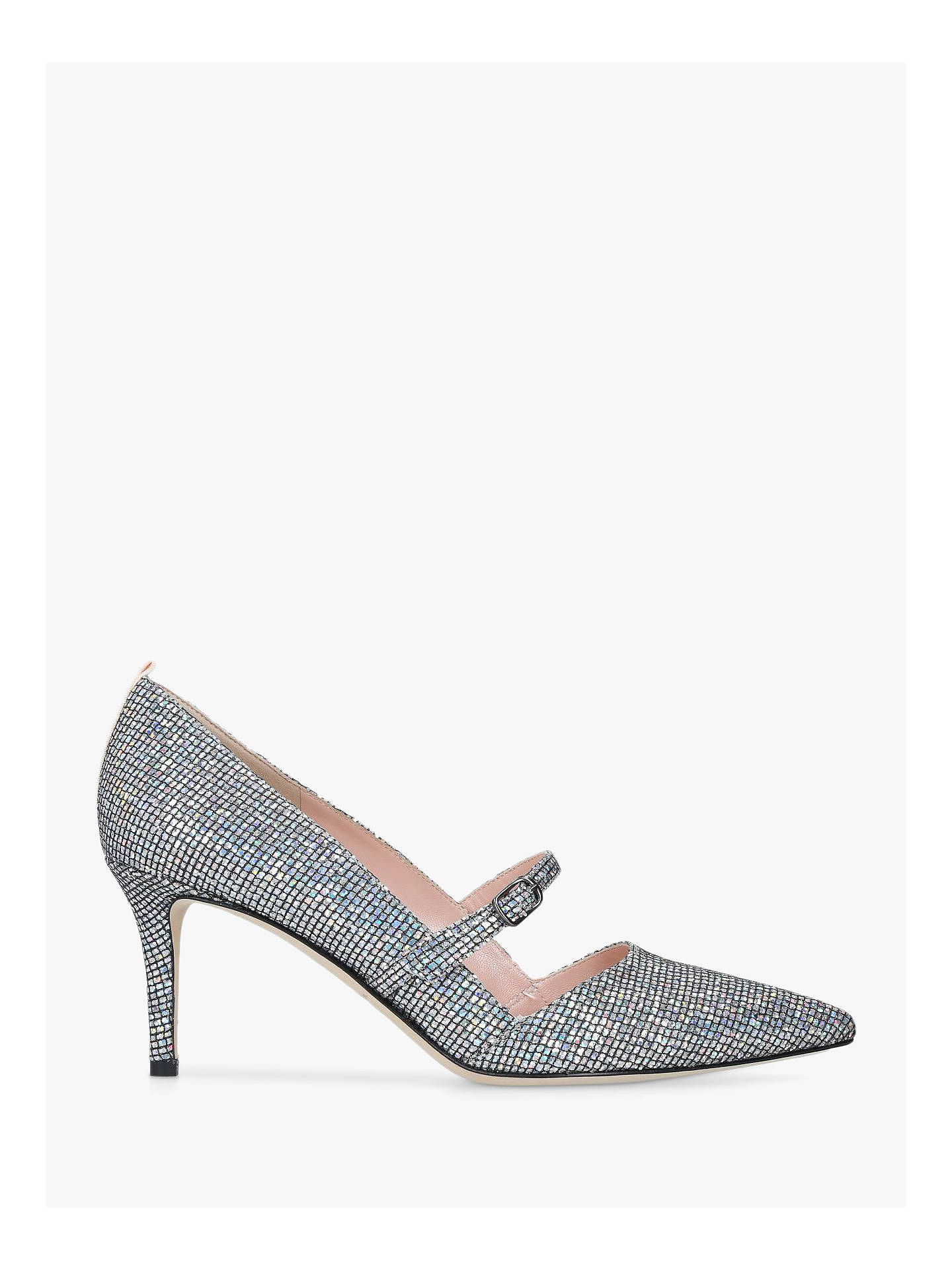 SJP by Sarah Jessica Parker Nirvana Court Shoes, Silver at ...