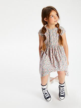 c334dda5e4 John Lewis   Partners Girls  Ditsy Floral Print Dress