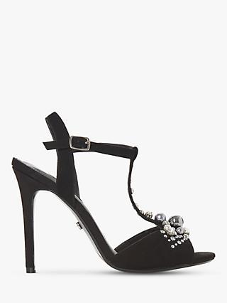 2a9e08389b2fa0 Dune Mazzure Embellished Stiletto Heel Sandals