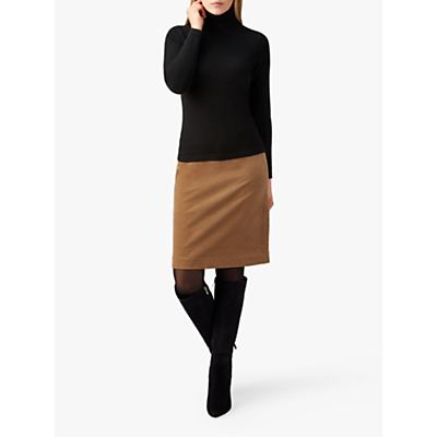 Pure Collection A-Line Skirt, Camel