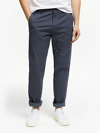 John Lewis & Partners Essential Straight Cut Chinos, Grey
