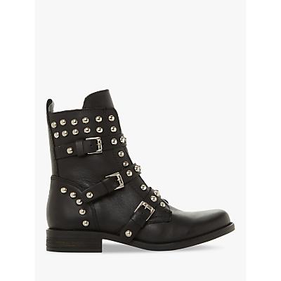 Steve Madden Spunky Ankle Boots, Black Leather