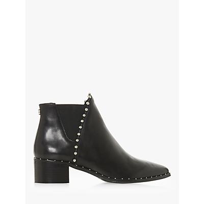 Steve Madden Floruss Studded Ankle Chelsea Boots, Black Leather