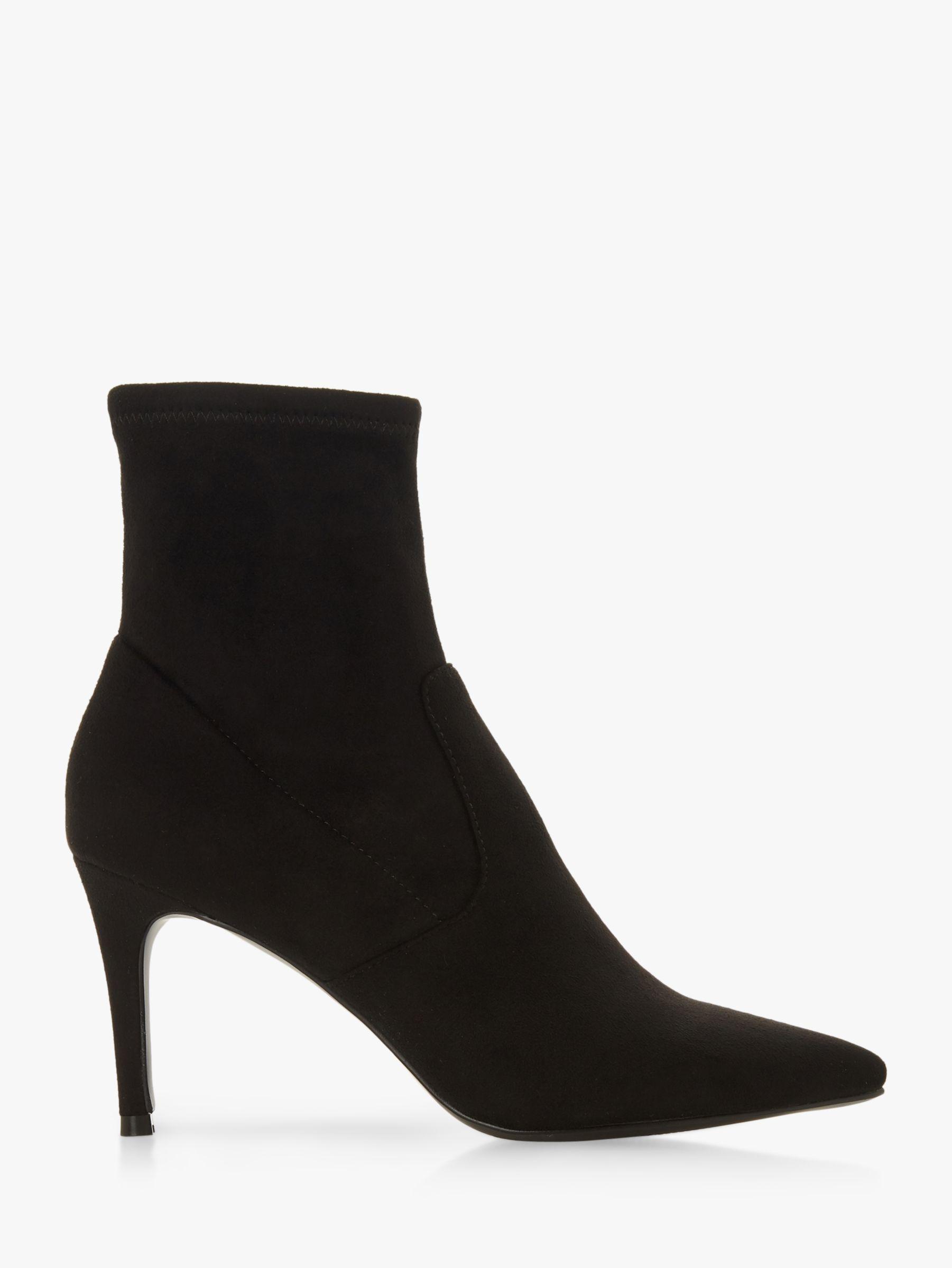 476fabf7846 Steve Madden Lava Stiletto Heel Boots, Black at John Lewis & Partners