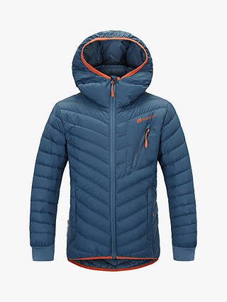 Buy Skogstad Girls' Lightweight Down Jacket, Teal Blue, 12 years Online at johnlewis.com
