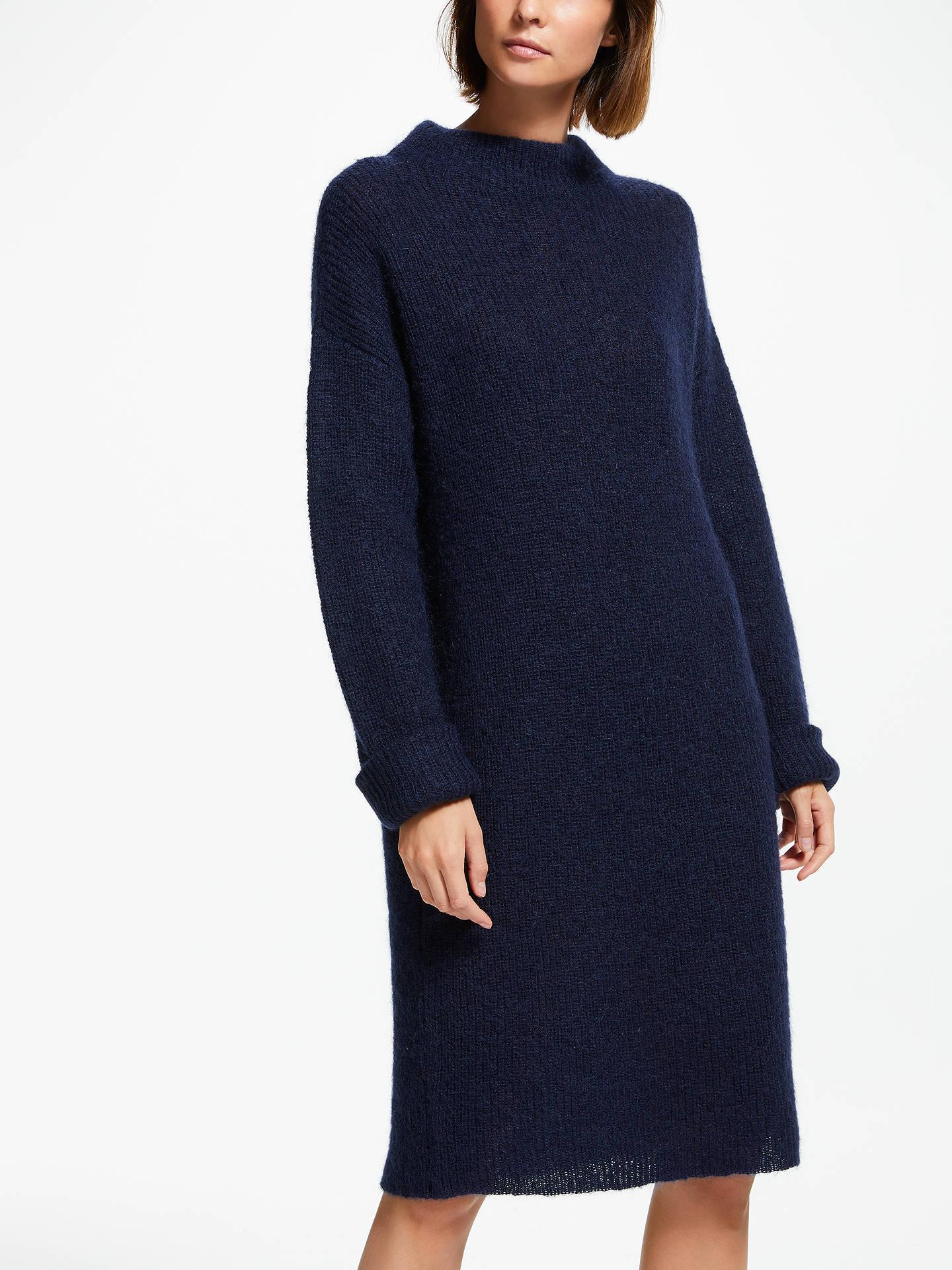 latest sale modern design beautiful style Finery Cypress Jumper Dress, Blue Navy at John Lewis & Partners