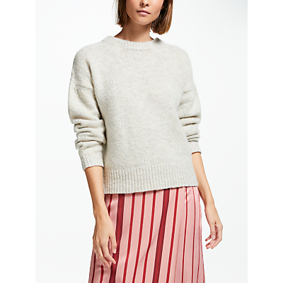 Finery Vine Knit Jumper, Natural White