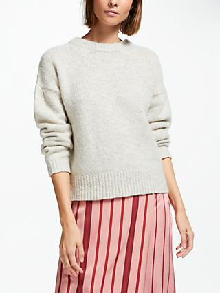 Finery Vine Knit Jumper, Natural White