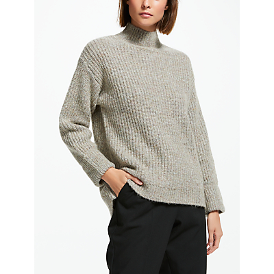 Finery Ashes Roll Neck Jumper, Natural